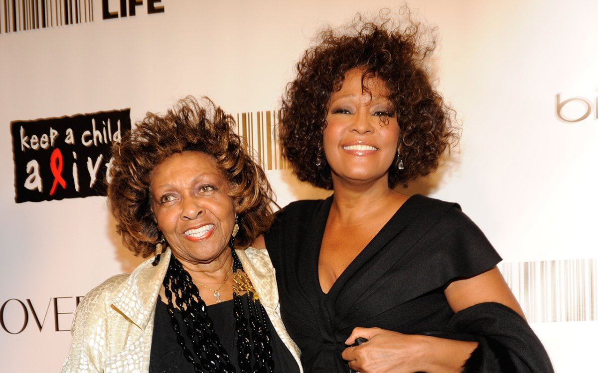 Cissy Houston and Whitney Houston attend Keep A Child Alive's 7th annual Black Ball at Hammerstein Ballroom on Sept. 30, 2010 in New York City.