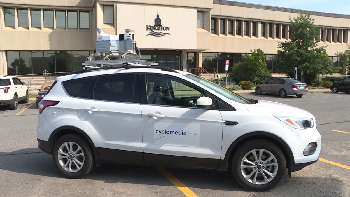 If you see this car driving around the city snapping photos, say cheese. You could be captured as part of a major project to 3D-map out the city.