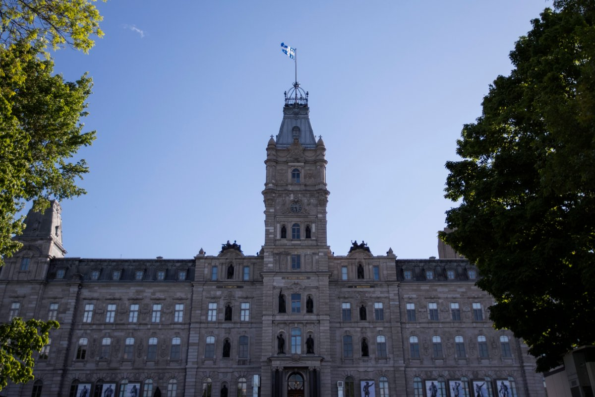 National Assembly of Quebec in Quebec City, File photo.