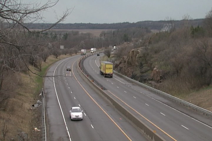 Traffic on eastbound highway 401 is not affected..