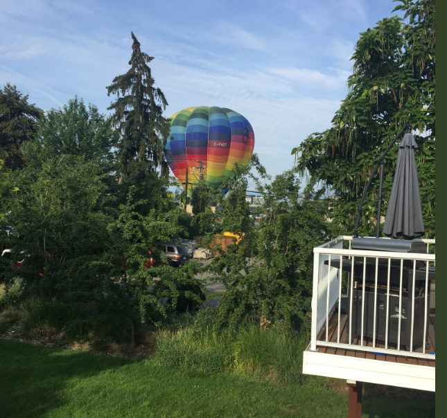 Kelowna hot air passenger balloon lands abruptly for second time in one week - image