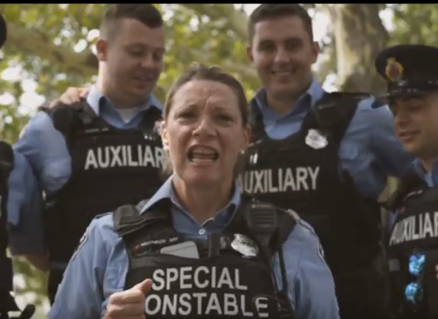 Hamilton police have joined a viral lip sync battle.