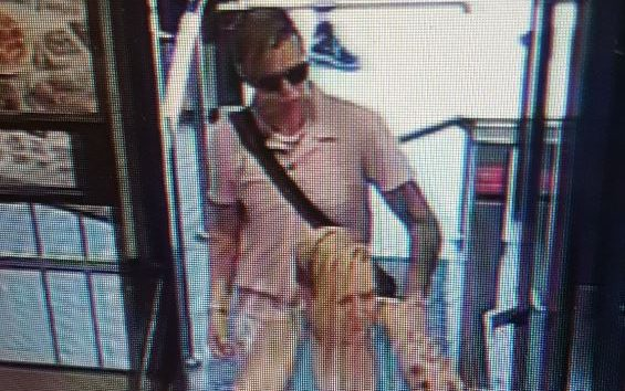London police have released this surveillance photo in hopes of identifying the  two women.