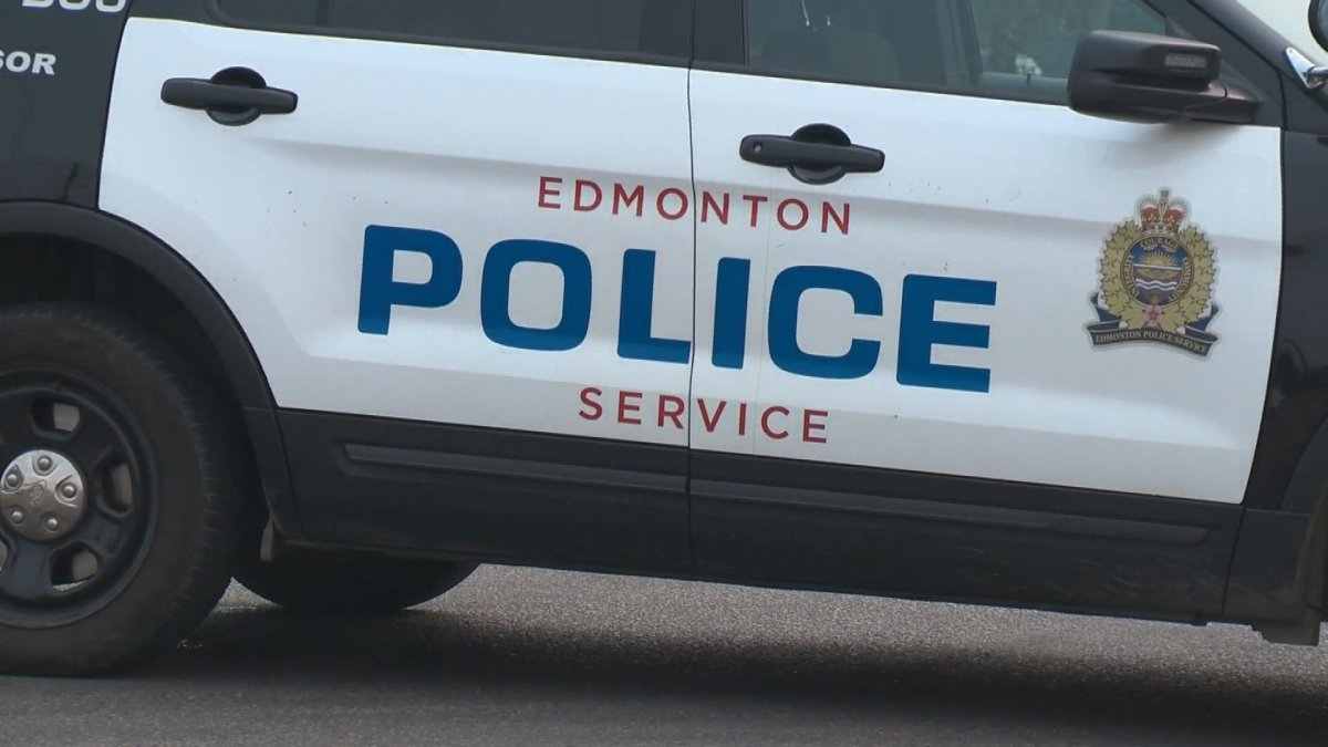 An Edmonton Police Service vehicle.