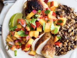 Continue reading: Foodie Friday: Glazed free range chicken breast with peach salsa
