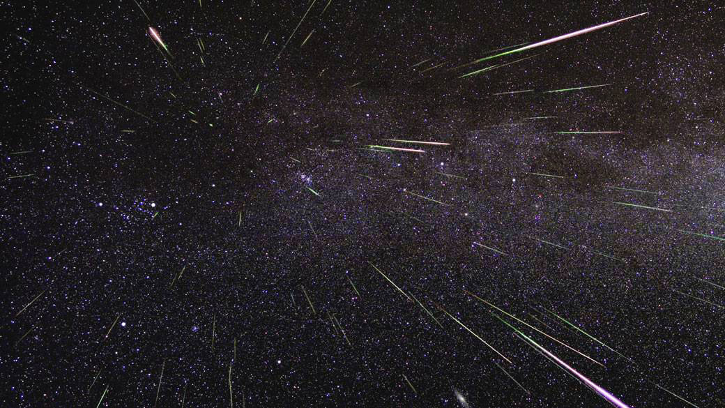 This year's Perseid meteor shower peaked Aug. 13 but will continue for days.