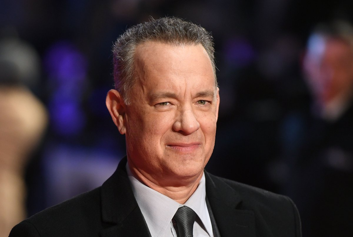 Tom Hanks attends 'The Post' European Premeire at Odeon Leicester Square on Jan. 10, 2018 in London, England.