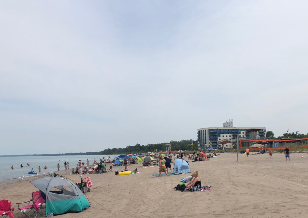 """Central Elgin Mayor Sally Martyn said the previous target date for beaches' reopening was June 15, """"but I don't think that's going to happen, because having (everything) coordinated in one week is very difficult.""""."""