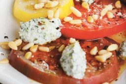 Continue reading: Foodie Friday: Heirloom tomatoes with herbed ricotta recipe