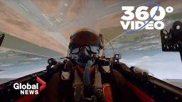 Continue reading: 360° Video: Ride inside a Korean War-era RCAF jet