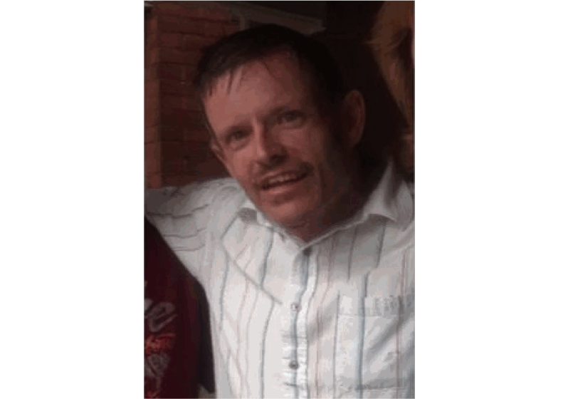 55-year-old Kevin Kinns was reported missing on August 4.