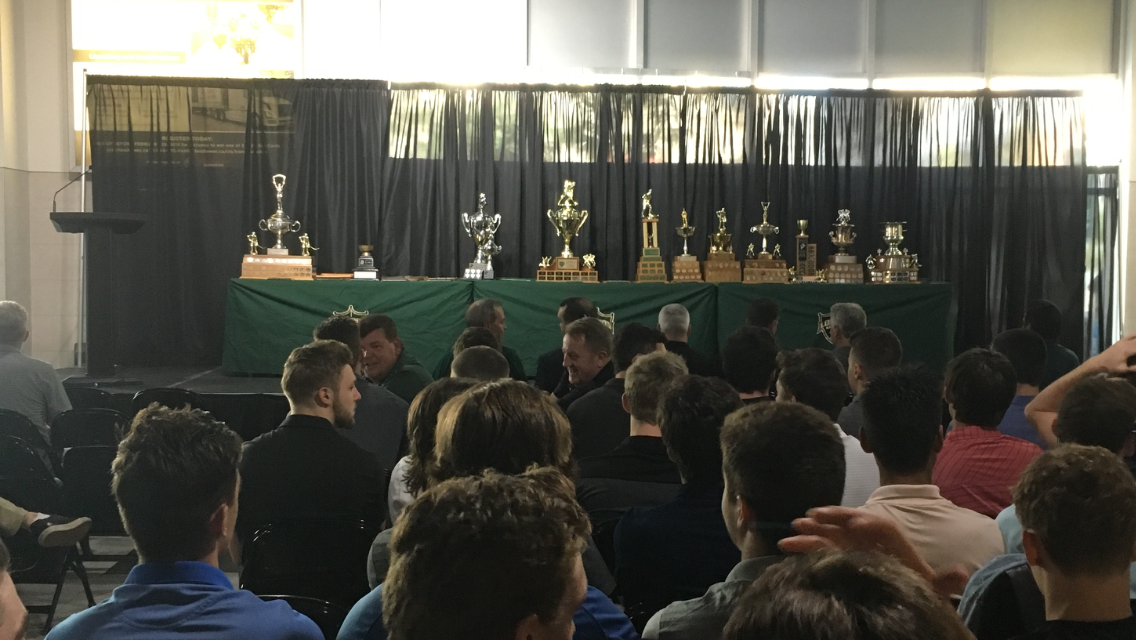 The London Knights sat down for the presentation of the 2017-18 team awards on Thursday, August 23, 2018.