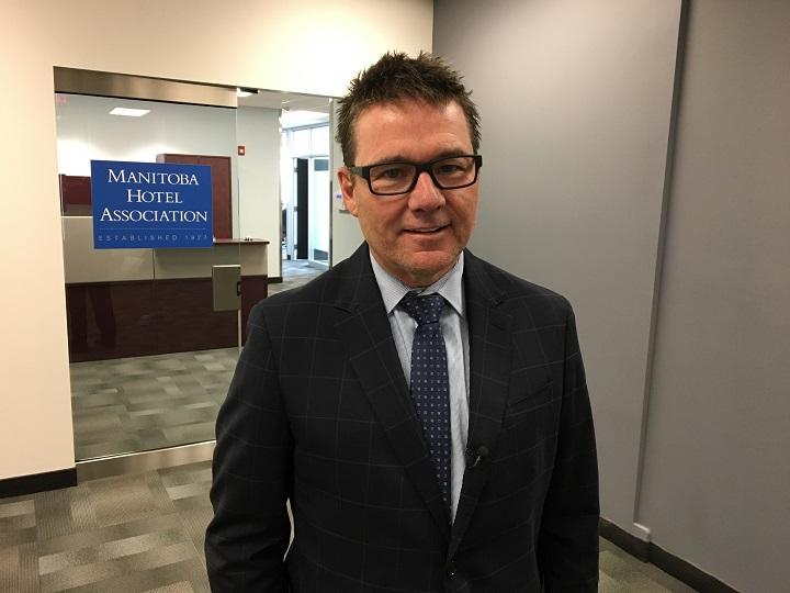 Manitoba Hotel Association CEO Scott Jocelyn.