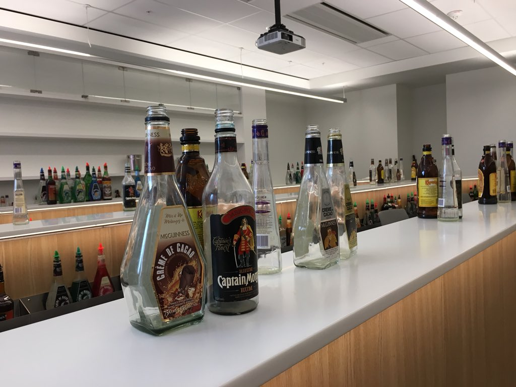 A mixology room, where students will learn all aspects of beverage service. (Including bartending personality, and how to make more tips.).