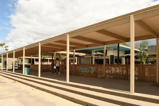 The pavilion at Mooney's Bay Park houses the washrooms and change rooms for the popular local beach – as well as the Baja Burger Shack. The more than 50-year-old pavilion needs a major facelift, the city councillor for the area says.