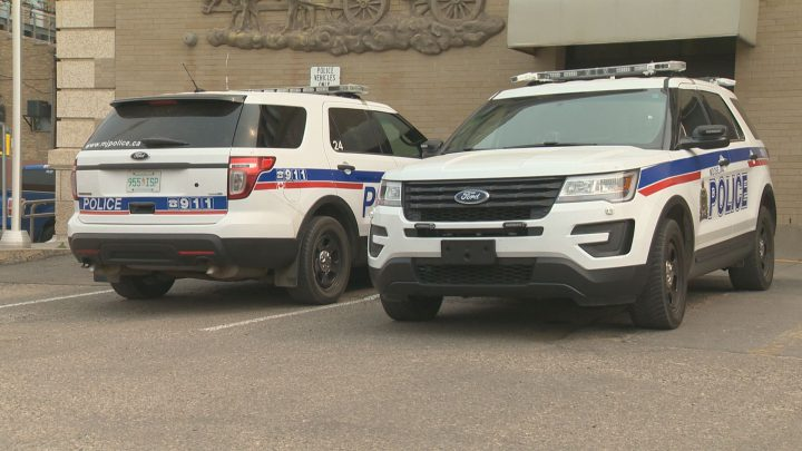 Two people have been taken to hospital after being stabbed in downtown Moose Jaw, blocks away from the police station, according to the Moose Jaw Police Service.