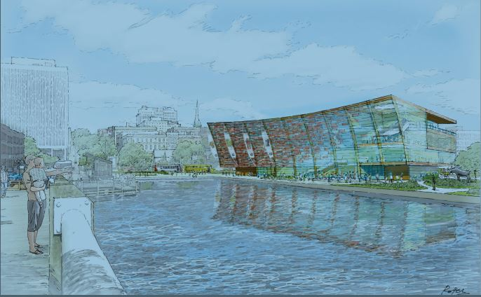 The new $100 million dollar New Brunswick Museum is expected to open in 2023.