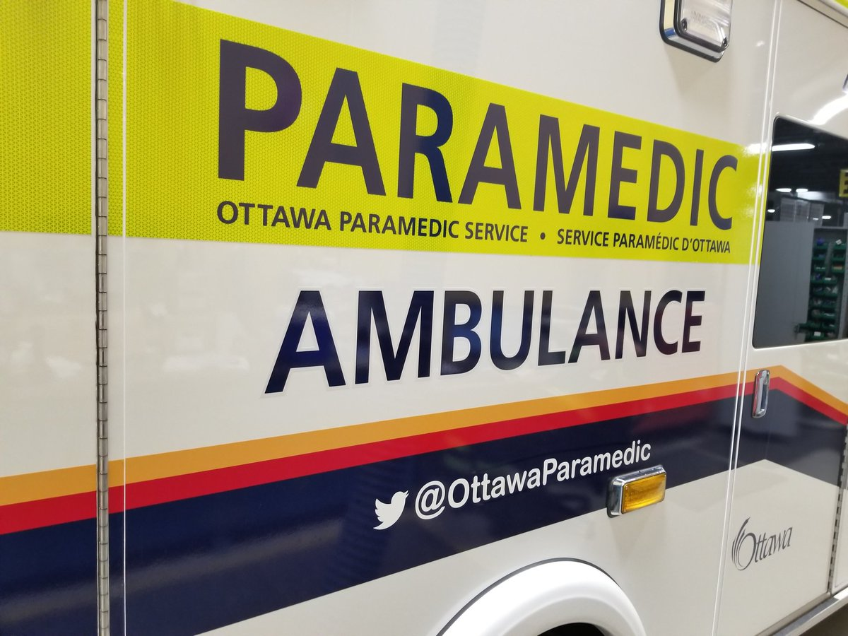 On-duty paramedics took the boy to the Children's Hospital of Eastern Ontario (CHEO) in stable condition and were evaluating him for a head injury.