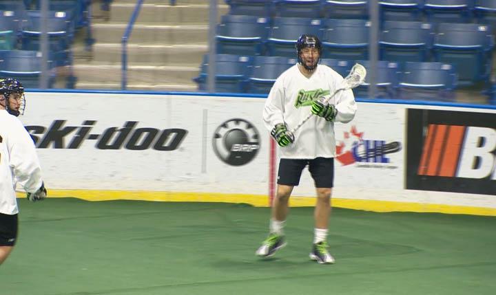 The National Lacrosse League named Mark Matthews, of the Saskatchewan Rush, MVP of the 2017-18 season.