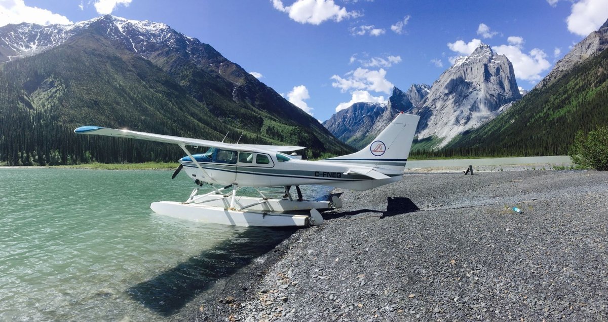 One of two Cessna 206 plane operated by Simpson Air.