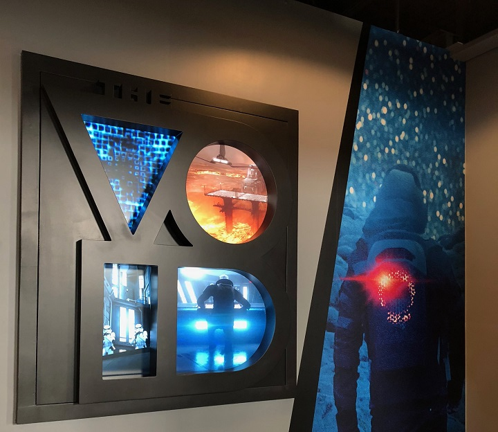 The Void is a completely immersive virtual reality experience opening soon at The Rec Room at West Edmonton Mall.
