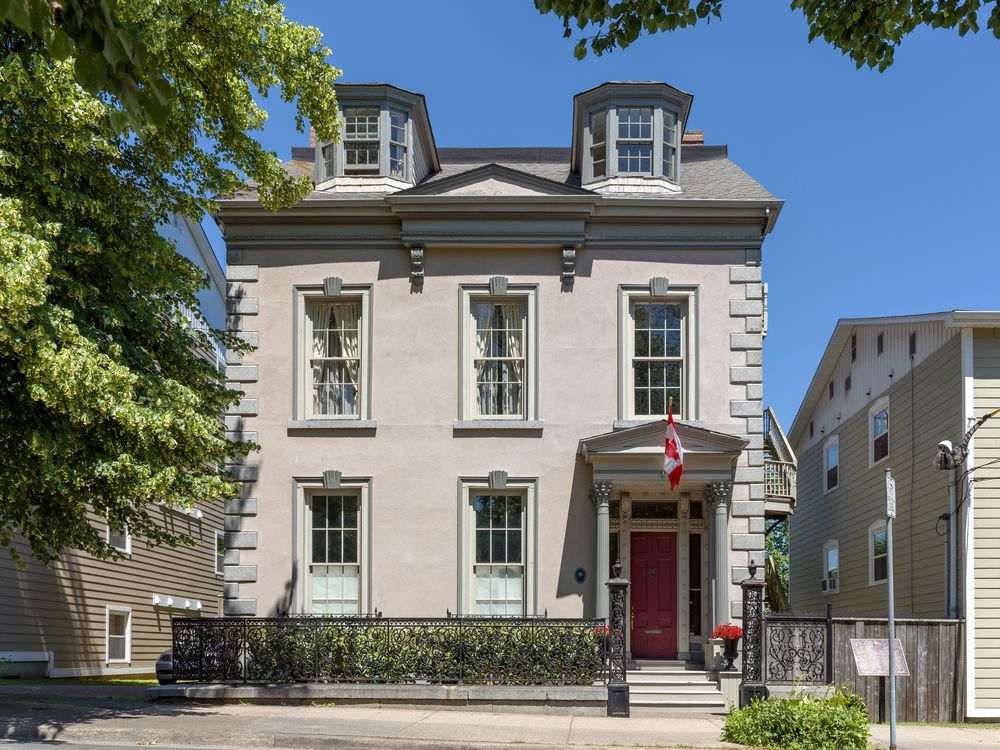 The three-storey Brunswick Street house, built in the 1850s, is 3,667 square feet.