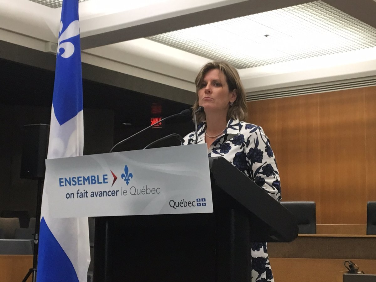 Quebec Justice Minister Stéphanie Vallée says the plan will help the loved ones of murder victims.