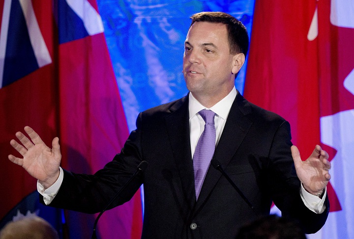 Former Ontario Progressive Conservative leader and current OREA chief executive Tim Hudak on Thursday, June 12, 2014.