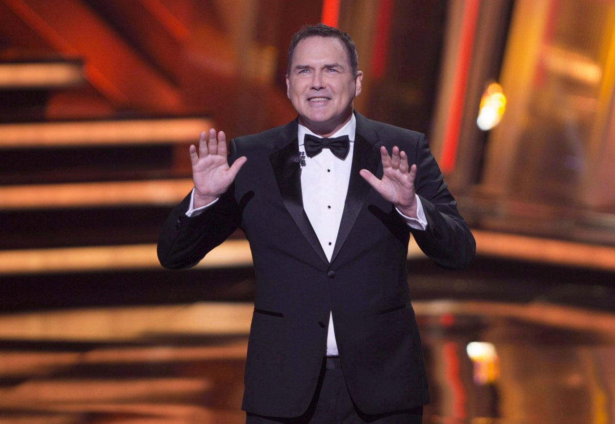 Norm Macdonald begins as host of the Canadian Screen Awards in Toronto on Sunday, March 13, 2016.
