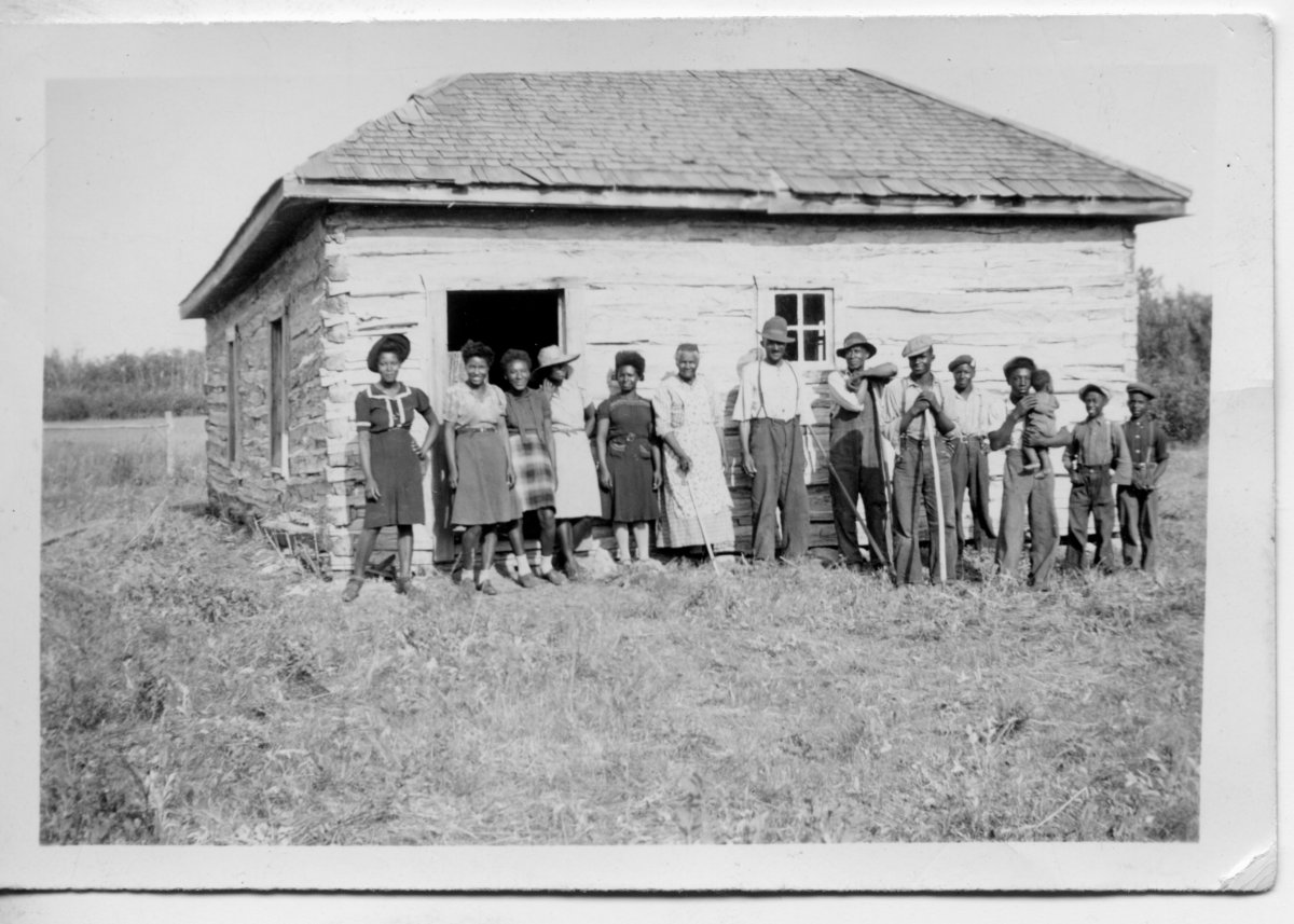 Shiloh Baptist Church, located approximately 30 kilometres northwest of Maidstone, Saskatchewan is shown in this undated handout image. Saskatchewan has awarded provincial heritage property designation to a log church and cemetery founded by African Americans escaping segregation in Oklahoma.