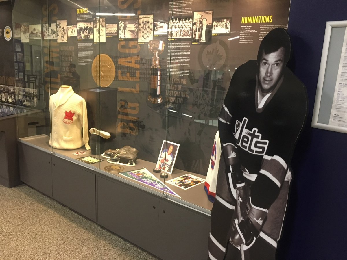 Ab McDonald was inducted into the Manitoba Sports Hall of Fame.