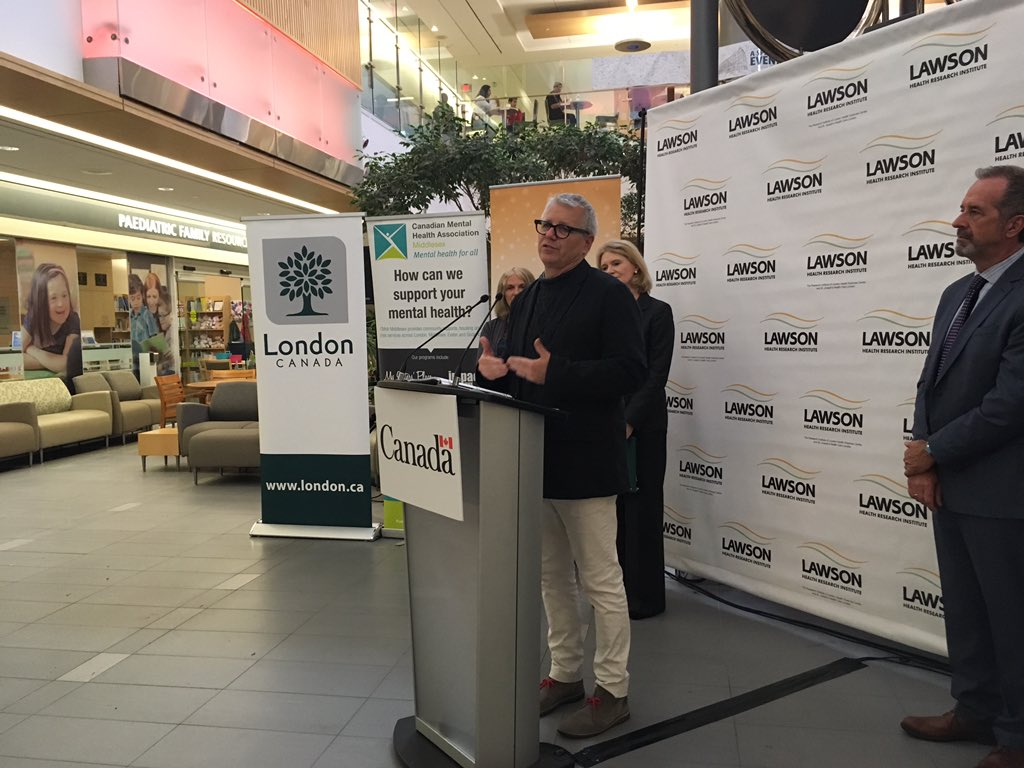 Adam Vaughan, Parliamentary Secretary to Jean-Yves Duclos, the Minister of Families, Children and Social Development, announced a federal investment of $223-thousand for the No Fixed Address program Monday morning, at Victoria Hospital.