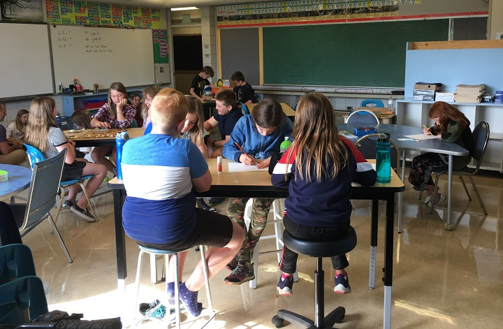 About 100 schools across Canada use a 'balanced calendar' system for the school year.