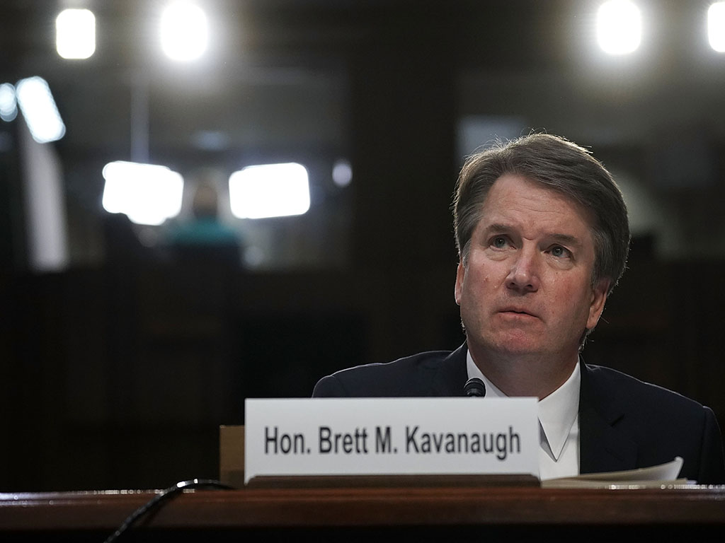 Christine Blasey Ford has accused Brett Kavanaugh of sexual assault and she has since received death threats and had to move her family from their home.