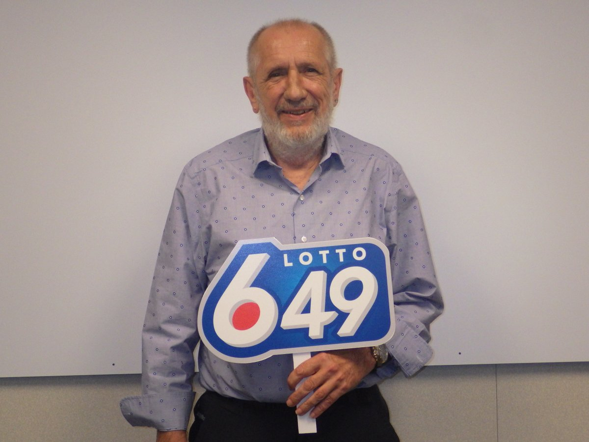 Calgary resident Leonard Peters wins $6.1 million in LOTTO 6/49, Sept. 14, 2018.