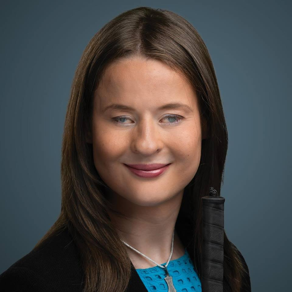 Quebec solidaire's candidate, Camille St-Laurent.