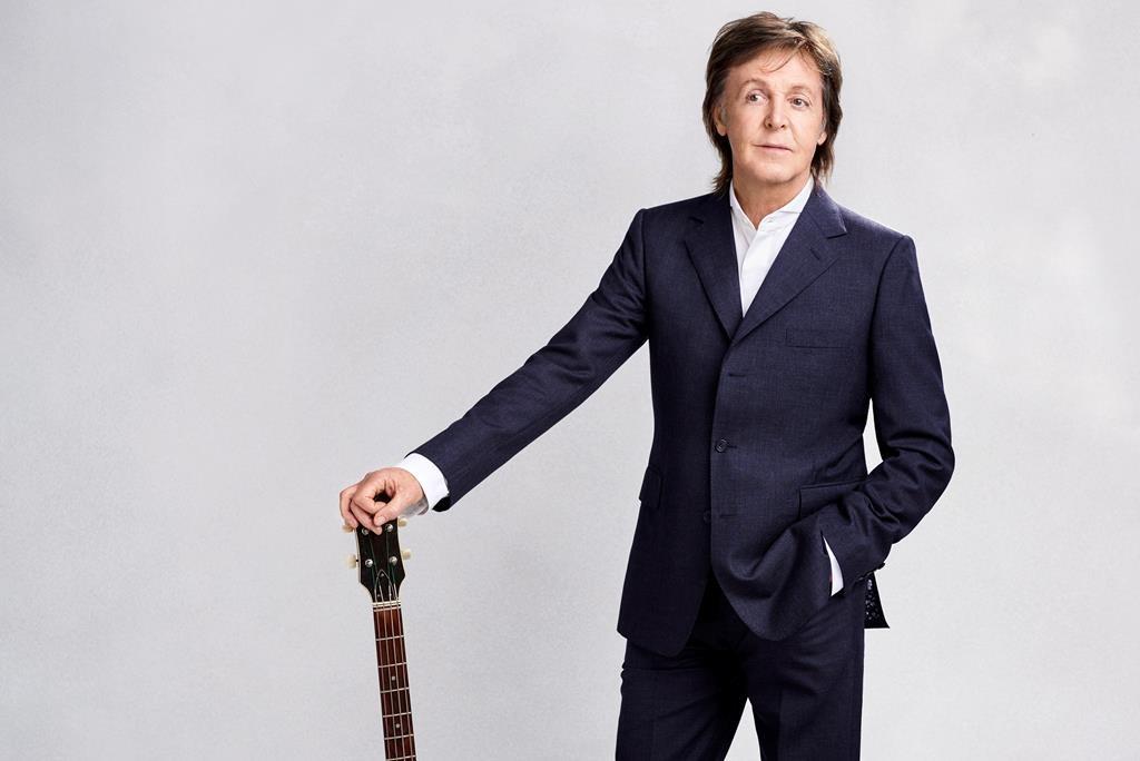 Paul McCartney is shown in a handout photo.