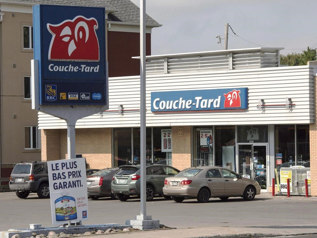 A Couche Tard store is seen, Tuesday, September 20, 2016 in Deux-Montagnes, Quebec. THE CANADIAN PRESS/Ryan Remiorz.