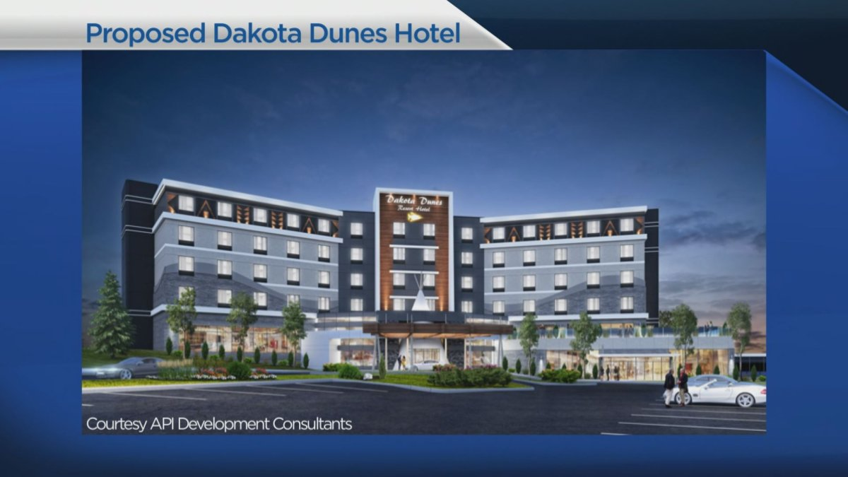 Whitecap Dakota First Nation Chief Darcy Bear said the hotel continues the vision of turning Whitecap into a premier tourist destination.