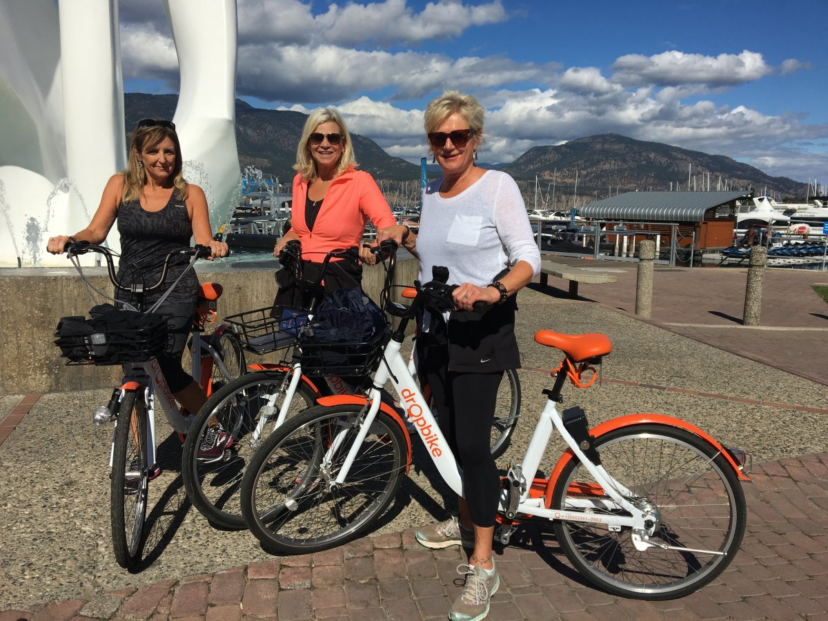Over 15,000 Kelowna residents and visitors have signed up for a Dropbike account since the bike-share pilot program launched in June.