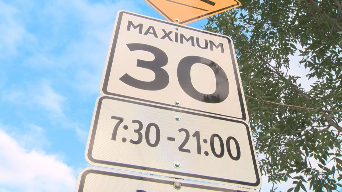 Edmonton playground zones are in effect every day from 7:30 a.m. to 9 p.m.