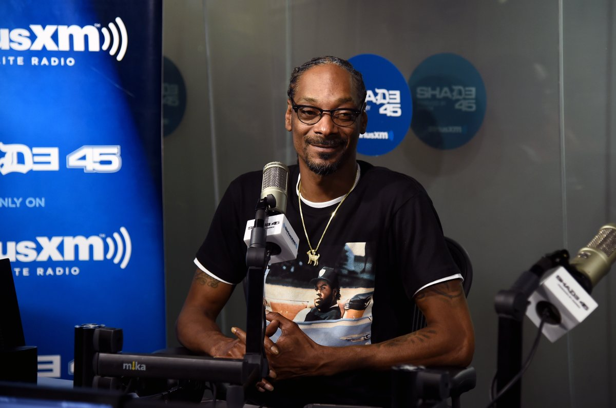 Snoop Dogg visits the SiriusXM Studios on Sept. 17, 2018, in New York City.