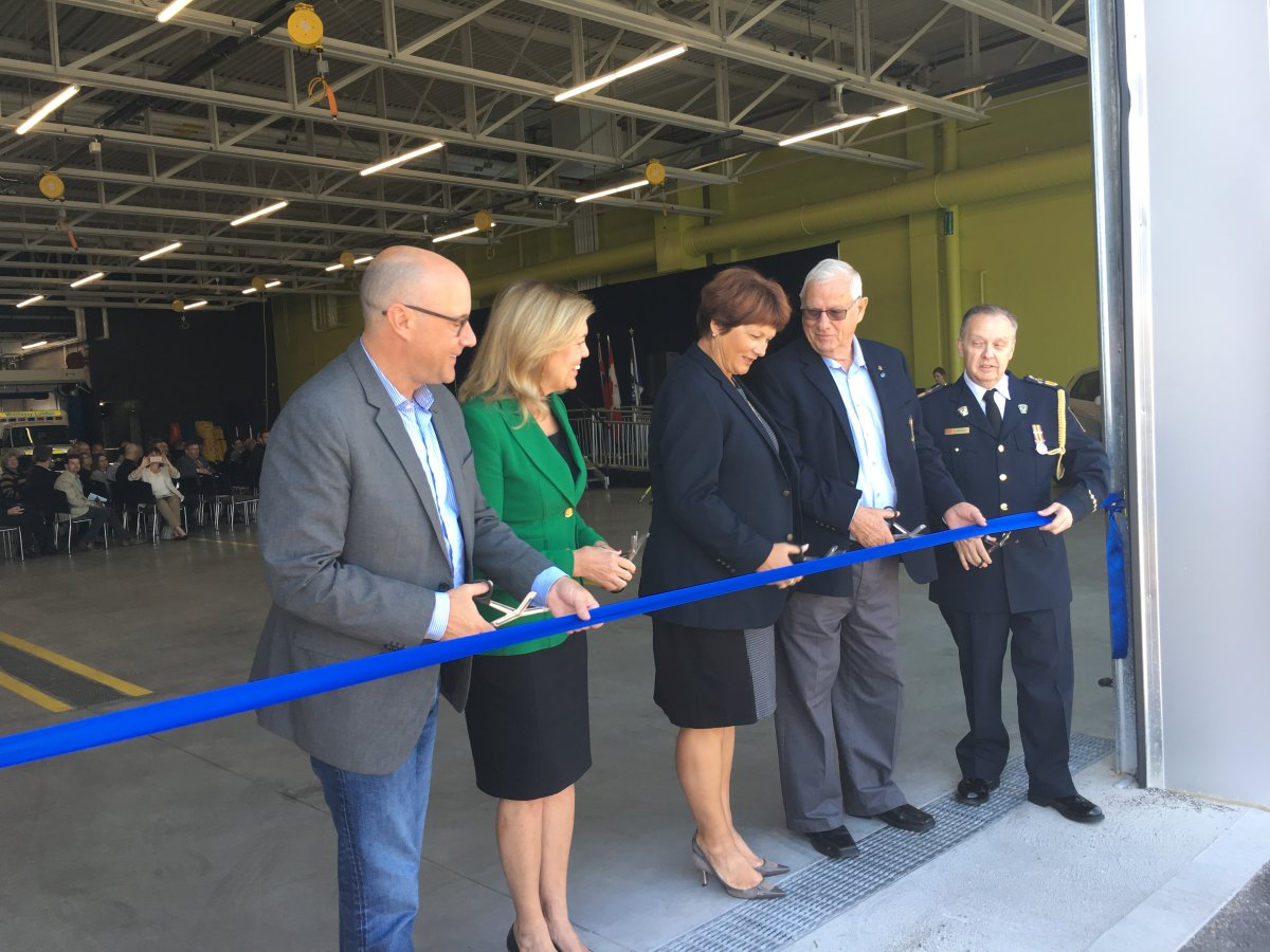 The Middlesex-London Paramedic Service officially opened its new headquarters on September 28, 2018.