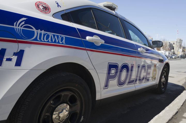 Ottawa police say the guns and gangs unit is investigating an overnight shooting in Overbrook on Sunday, Oct. 18, 2020.