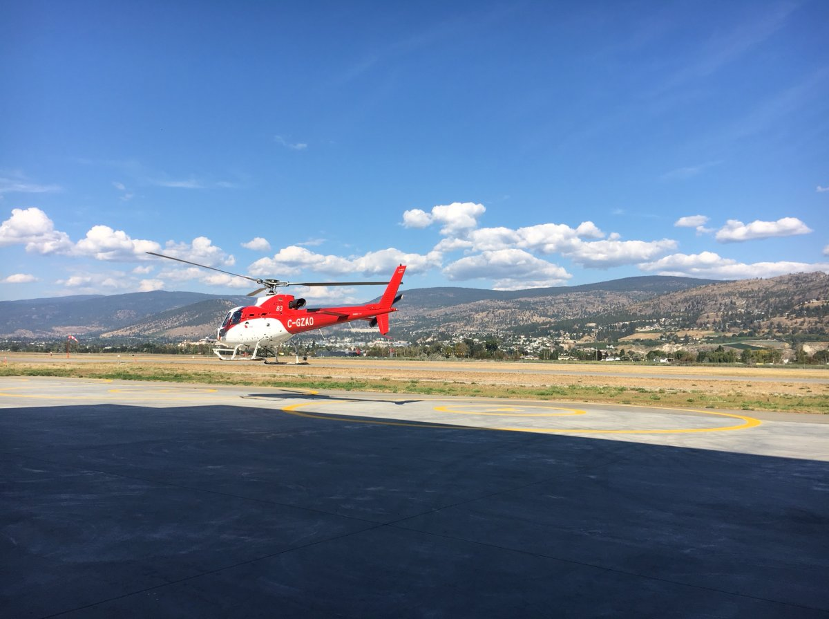 Penticton Search and Rescue was involved in evacuating an injured hiker by helicopter on Friday afternoon.