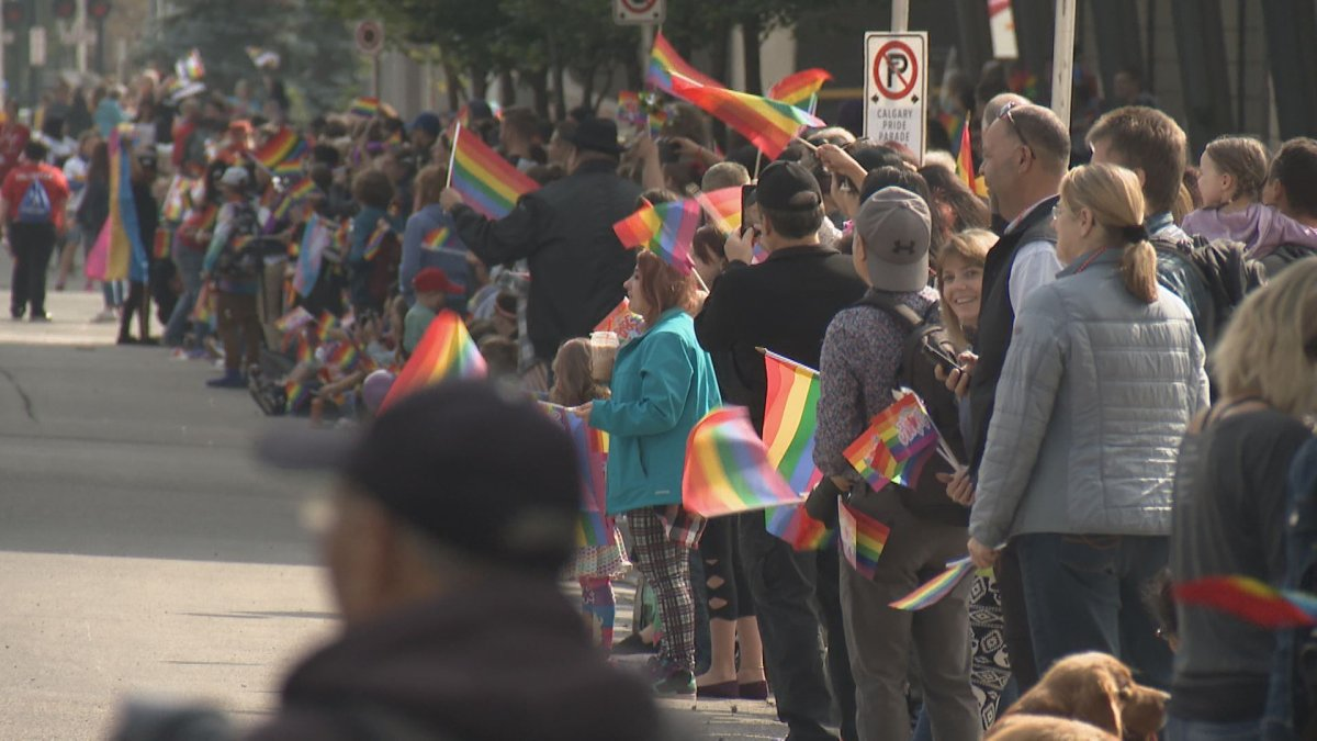 The Pride Parade took over downtown Calgary on Sept. 2, 2018.