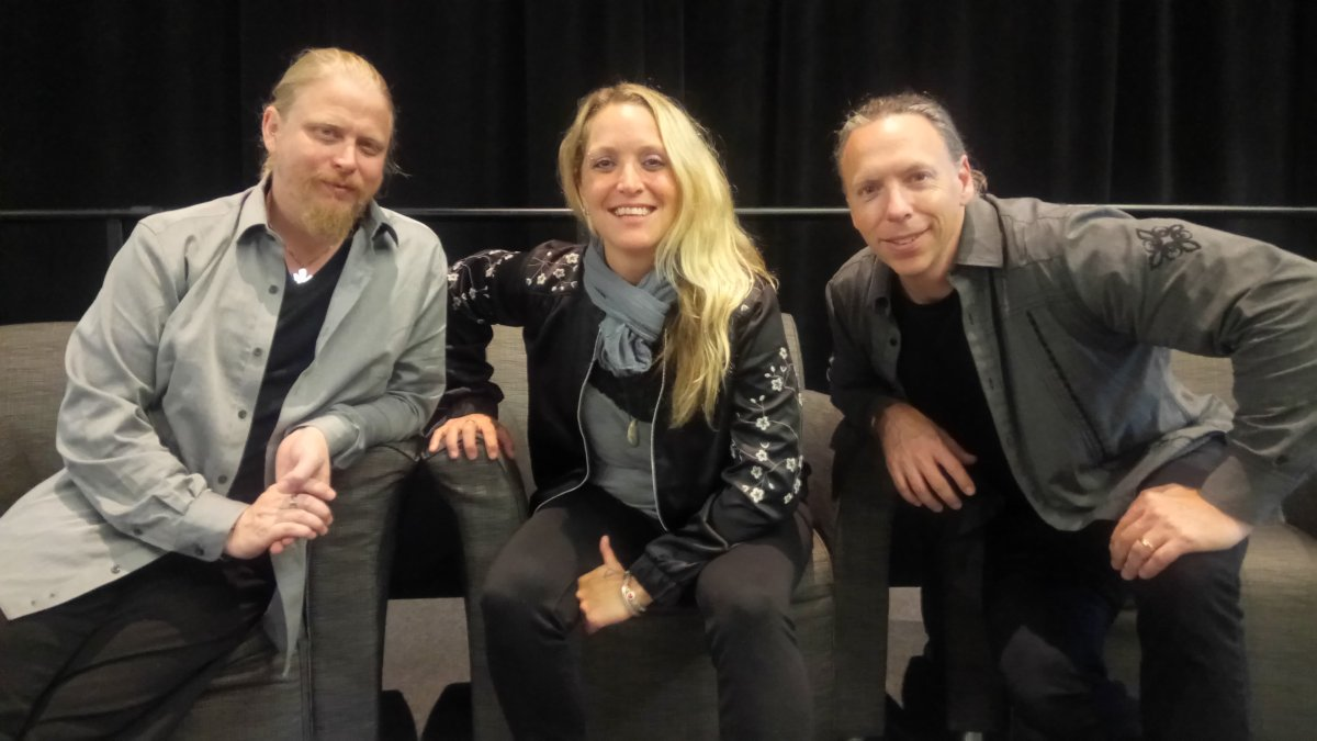 Sarah Smith and her bandmates at the 12th annual Salvation Army Addiction and Recovery Breakfast.