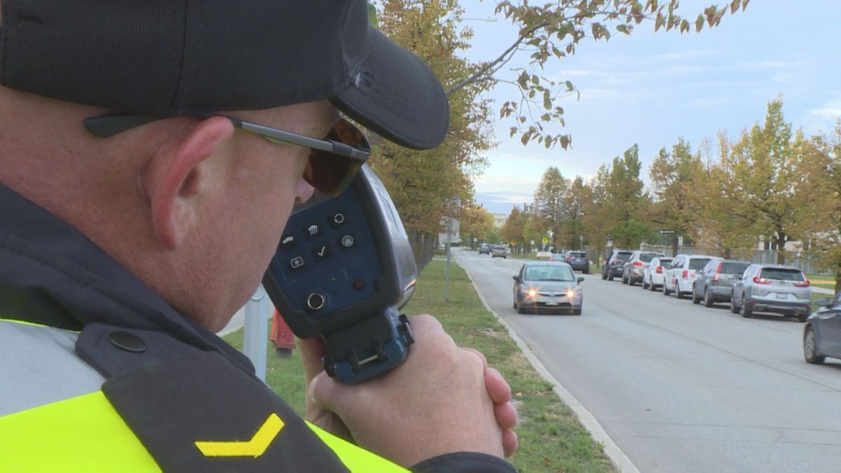 Toronto police were on a back-to-school traffic safety blitz from Sept. 3 to 6.