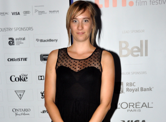 Director Sophie Dupuis attends the Short Cuts Canada: Programme 2 during the 2012 Toronto International Film Festival at the TIFF Bell Lightbox on September 8, 2012 in Toronto.
