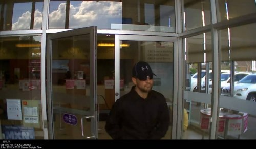 Armed robbery at CIBC in Stoney Creek.